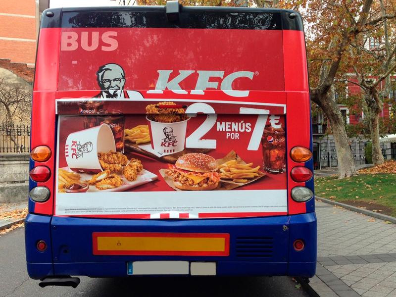 La publicidad en autobuses impacta y es rentable